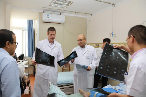 Experts from US Made Academic Exchange with Joint Surgery Department of the Second Affiliated Hospital